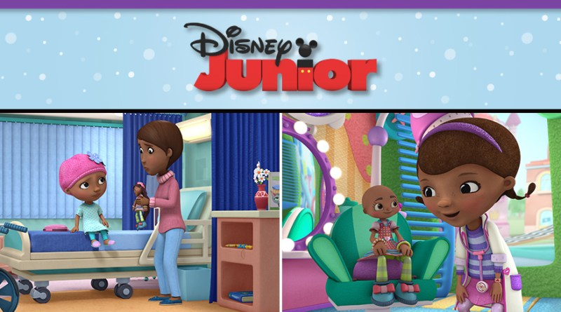 Doc McStuffins, Robin Roberts, National Cancer Survivors Day, disney junior