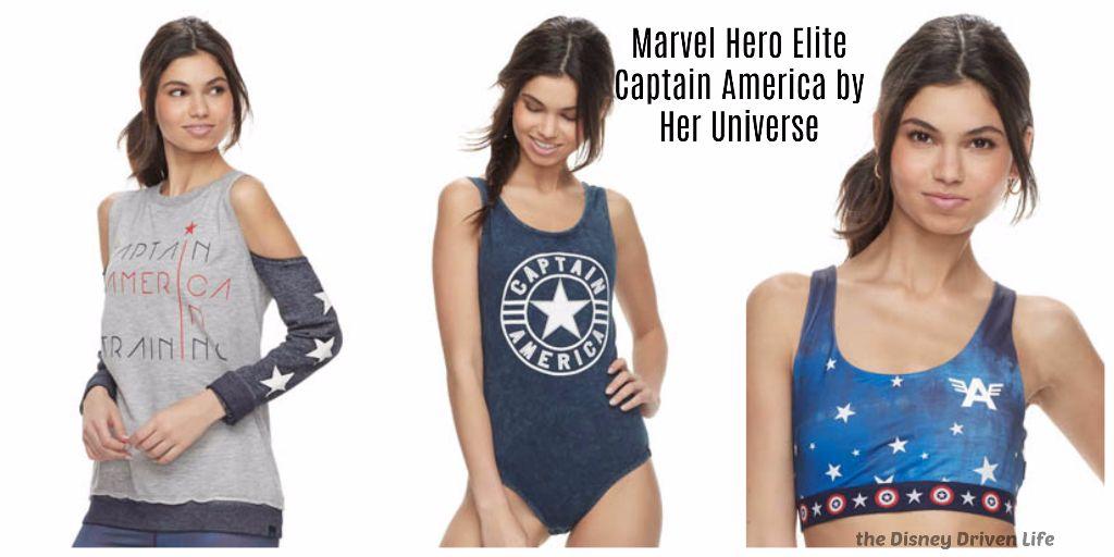Marvel Hero Elite Captain America by Her Universe
