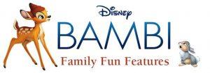 Bambi on BluRay/DVD