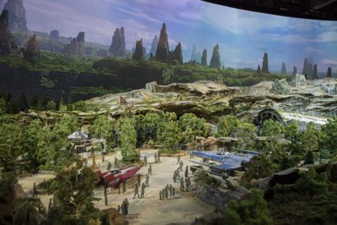 Star Wars Land D23 Expo