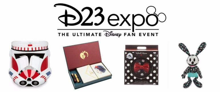 d23 collectible merchandise