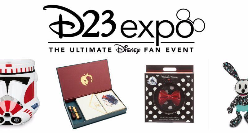 d23 collectible merchandise