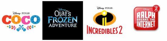 d23 disney pixar movie announcements