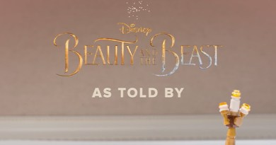 Beauty & the Beast as told by Lego