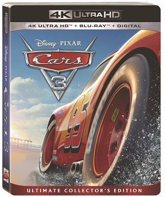 Cars 3 BluRay