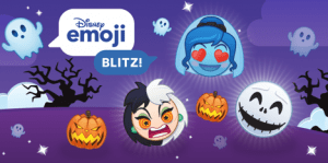 Disney Emoji Blitz Halloween