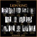 Lion King Live Action Cast