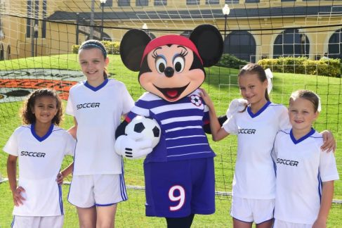 minnie mouse soccer uniform