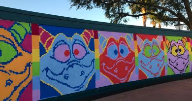 Figment Mural - Epcot International Festival of the Arts