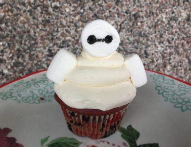baymax cupcakes