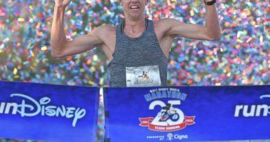 WDW 25 Marathon Winner Nick Hilton