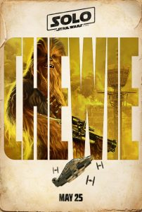 Star Wars Solo Poster - Chewie