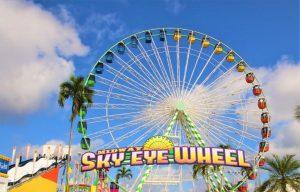 midway sky eye Florida State Fair