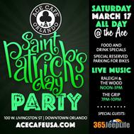 ST Patrick's Day Ace Cafe Orlando