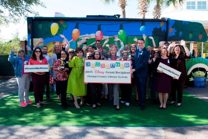 2018 disney grant OCLS