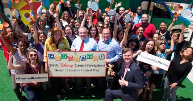 2018 disney grant heart of Florida United Way
