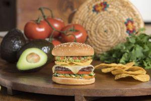 Guacamole Crunch Charburger at The Habit Burger Grill