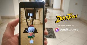 DuckTales Pundit Stickers