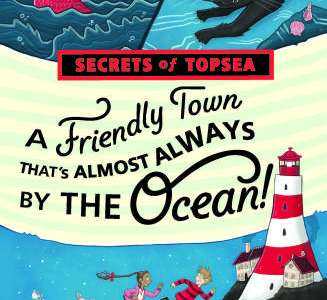 A Friendly Town That's Almost Always By The Oceanby Kir Fox and M Shelley Coats