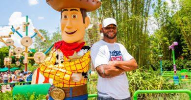 Dallas Cowboys QB Dak Prescott Visits Toy Story Land Before Training Camp