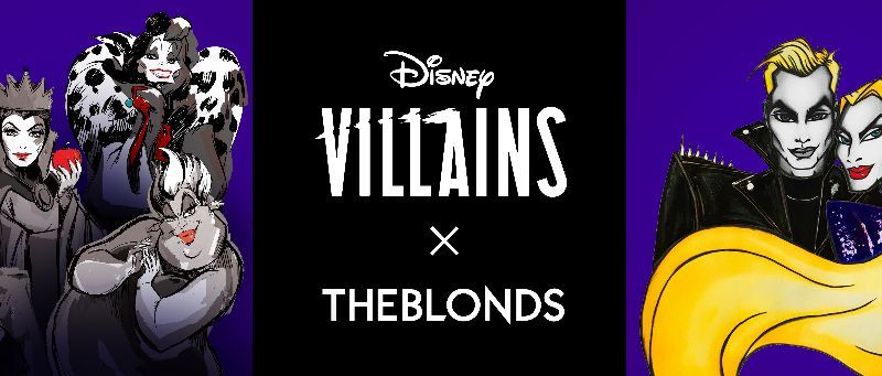 Disney Villains X THE BLONDS Collaboration