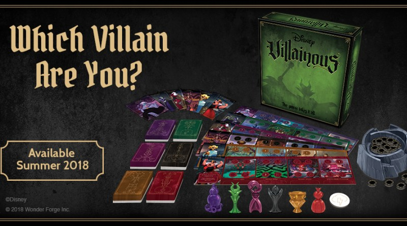 Wonder Forge Disney Villainous