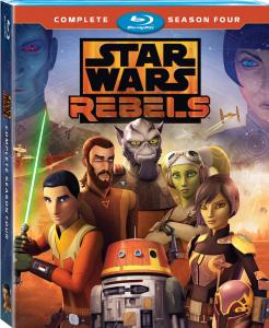 Star Wars Rebels Season 4 DVD