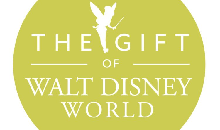 The gift of Walt Disney World