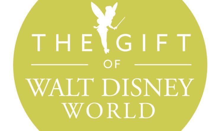 The gift of Walt Disney World