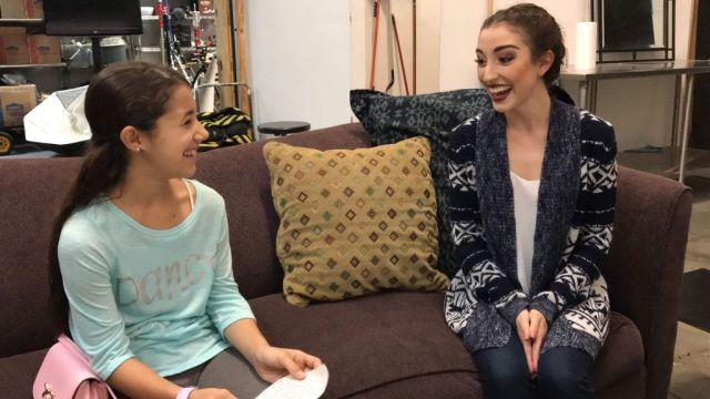 Orlando ballet Interviews Isabella