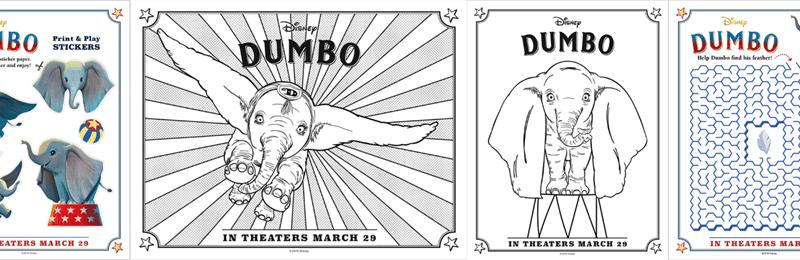 dumbo printables