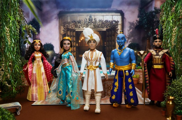 Live action Aladdin Hasbro Dolls