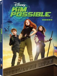 kim possible live action dvd