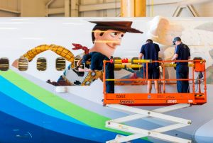 Alaska Air Toy Story 4