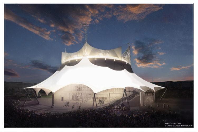 New Cirque du Soleil Show Headed to Disney Springs