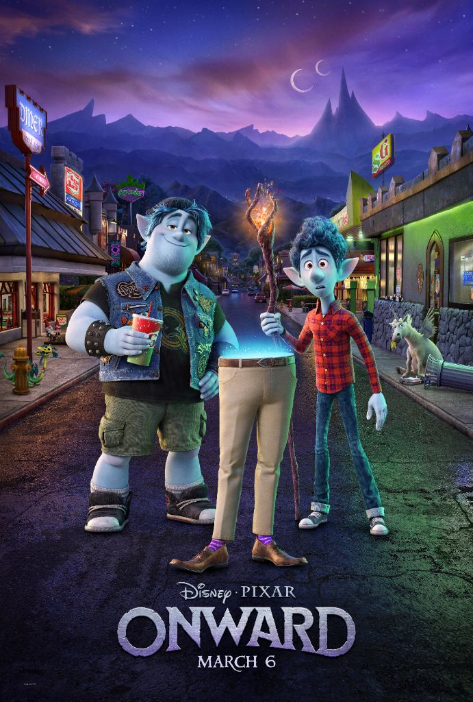 "Disney and Pixar's ""Onward"" New Trailer & Images"
