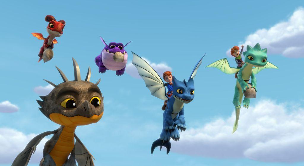 The Phantom Fang Dragons Rescue Riders