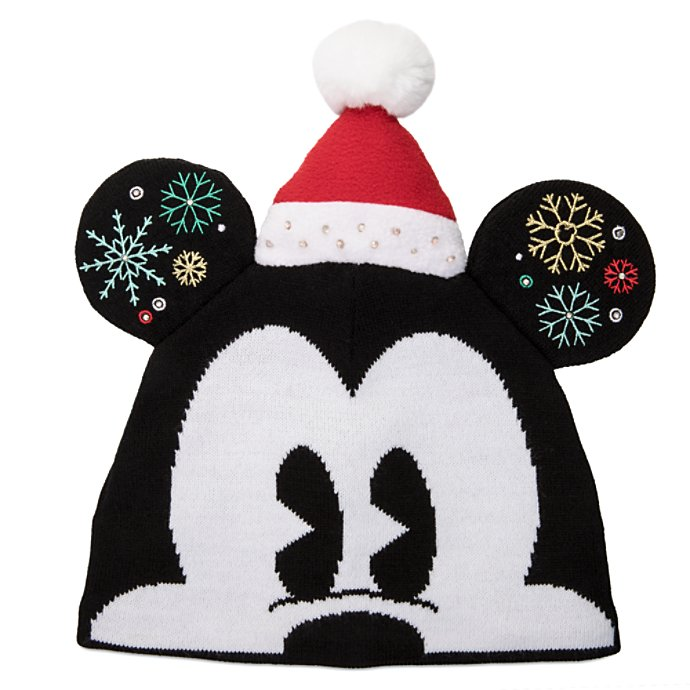Mickey Mouse Light up Beanie Hat for Adults