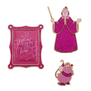 Disney Wisdom Pin Set Fairy Godmother