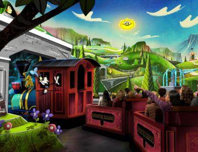 Mickey Minnie Runaway Railroad