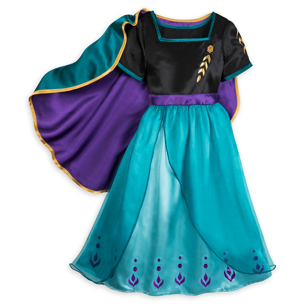 Queen Anna Deluxe Costume for Kids