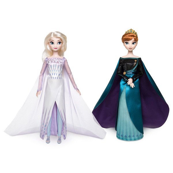 Queen Anna and Snow Queen Elsa Classic Doll Set