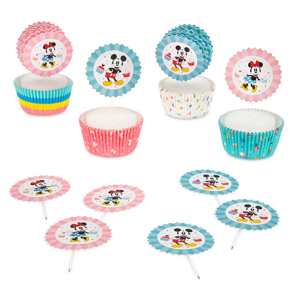 Disney Eats Mickey and Minnie Mouse Cupcake Kit