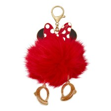 Minnie Mouse Fuzzy Bag Charm