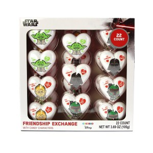 GALERIE Valentine's Day Star Wars Heart Tin with Chocolate