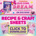 Super Cute JoJo Siwa D.R.E.A.M. Craft & Recipe