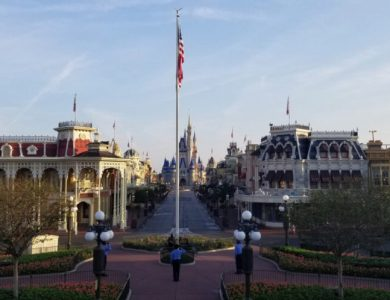 Flag Ceremony at Magic Kingdom Park