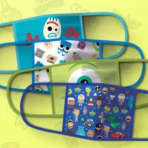 PIXAR Cloth Face Masks 4-Pack Set