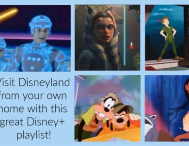 Disneyland disney+ playlist