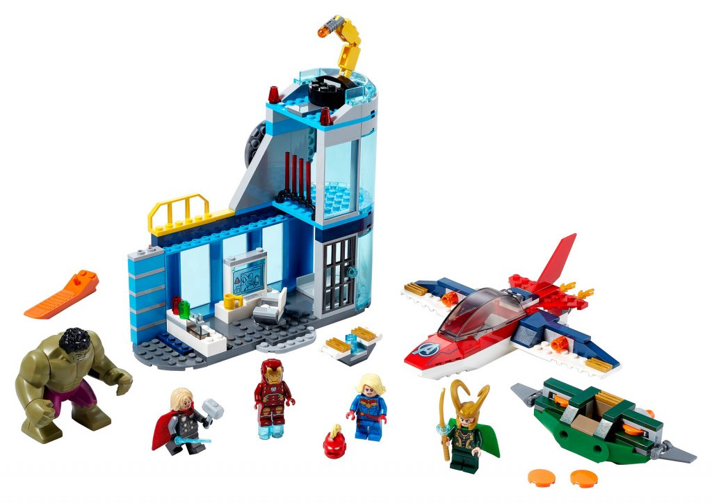 LEGO® Marvel Avengers Wrath of Loki Building Kit 2